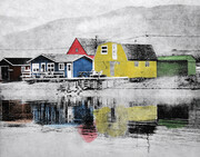 Woody Point Jelly Bean Houses SOLD by Katrin Smith